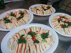 Three Point Sandwich Platter
