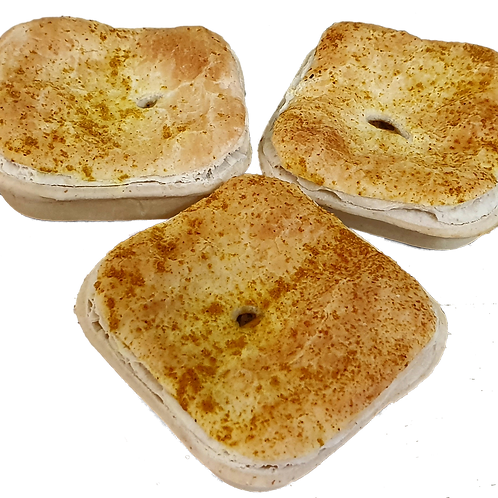 Steak and Curry Pie