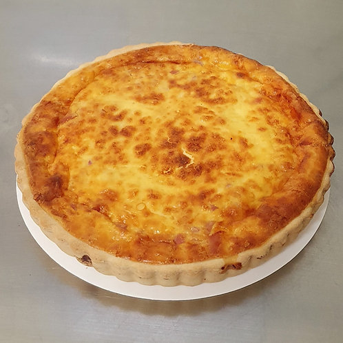 Family Egg and Bacon Quiche