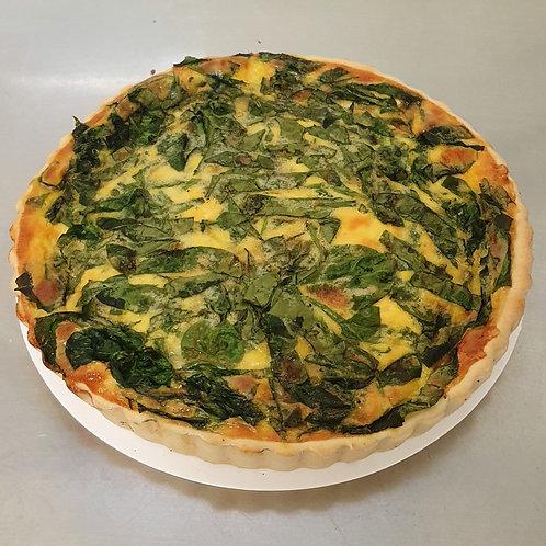 Family Spinach Quiche