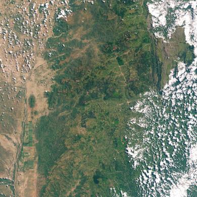 Aerial Footage of Chimanimani, Zimbabwe