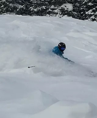 The perfect Powder Day