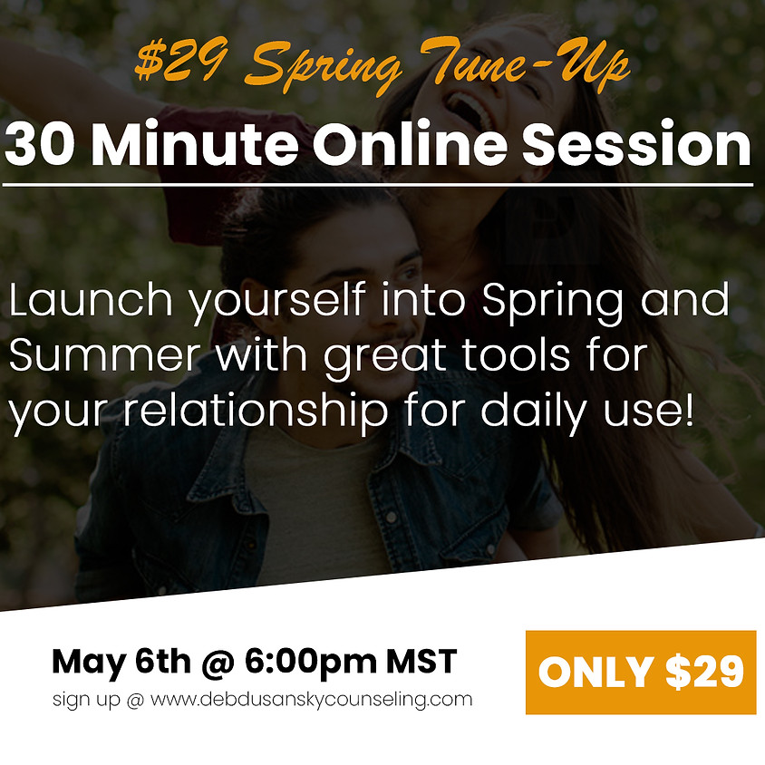 $29 Spring Tune-Up