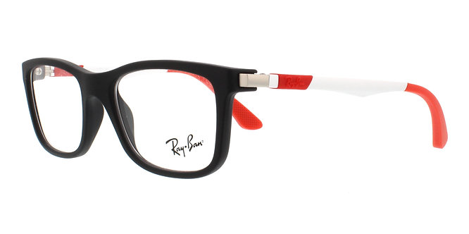 Rayban ry 1549 46-16-125 48-16-125  red/ blk