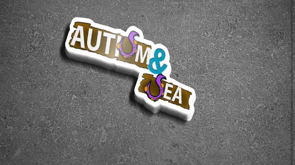 Autism & Sea sticker