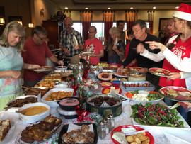 Holiday feast extraordinaire
