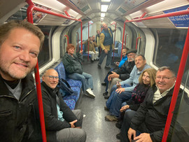 Suncoast Group on the London Tube Together