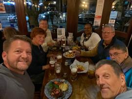 London group enjoying a pub