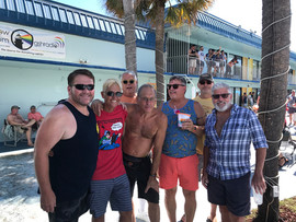 Group outing to final day of Flamingo