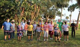 Outdoor Hula Hoop Dance Fall 2020