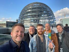 Suncoast group exploring Berlin!