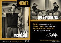 DIGITAL TRADING CARD: Joey McIntyre, NKO