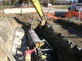 36 Inch Water Line Bore and Jack