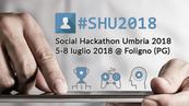 #SHU2018   Social Hackathon Umbria 2018   5-8 luglio 2018