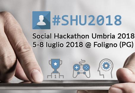 #SHU2018 | Social Hackathon Umbria 2018 | 5-8 luglio 2018