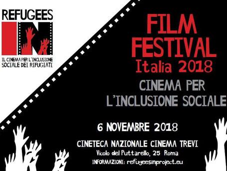 CONFERENZA FINALE del progetto REFUGEES IN - Il Cinema per l'inclusione sociale | 6 novembre 201