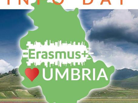 TrainingDay Erasmus + VET Umbria | Venerdì 14 Dicembre | 9.00 -17.00