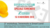 "3° WORKSHOP ""Terremoto e Smart Land""                                                17 nov"