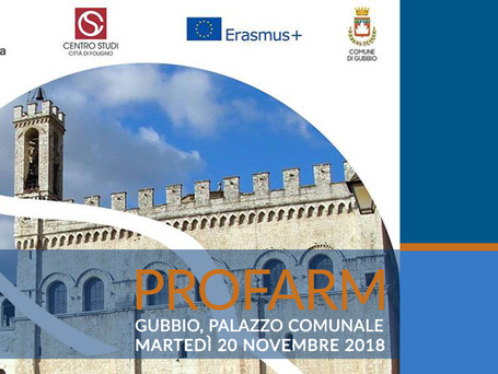 WORKSHOP FINALE del progetto PROFARM | 20 novembre 2018 | ore 15.00 -19.00 |