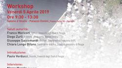 "WORKSHOP ""ADAPTATION""                                                5 aprile 2019 | Palaz"