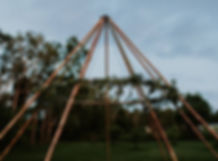 Naked Tipi Party Event Hire - Berry Vintage Hire