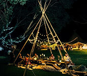 Berry Vintage Event Hire - Teepee Tipi party hire
