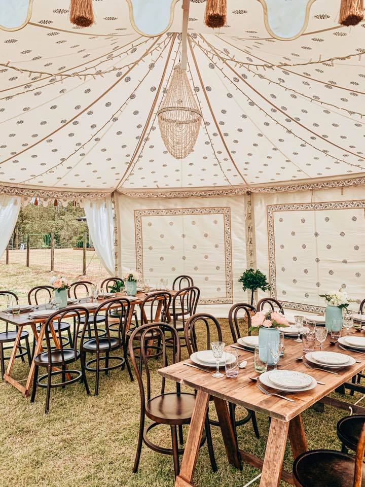 6 m Round Luxury Gazebo