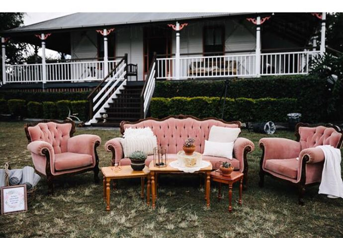 Our Dusty Pink Lounge Suite set