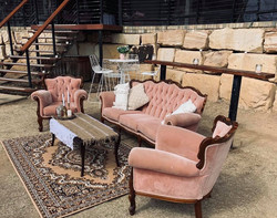 Dusty Pink Lounge Suite
