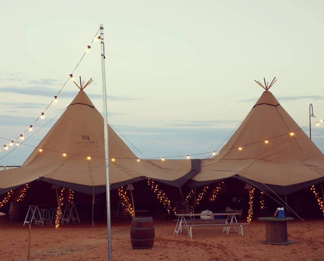 Nordic Tipi marquees