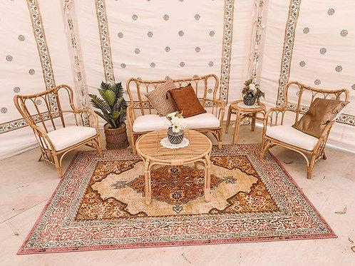 Cane lounge room