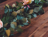 Berry Vintage Hire - Table Garland decoration party hire