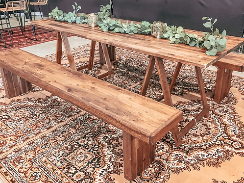Festival table set