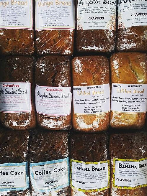 Pumpkin Coconut Bread (Gluten Free)