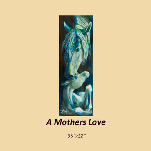 """""""A Mother's Love"""" signed and numbered limited edition print"""