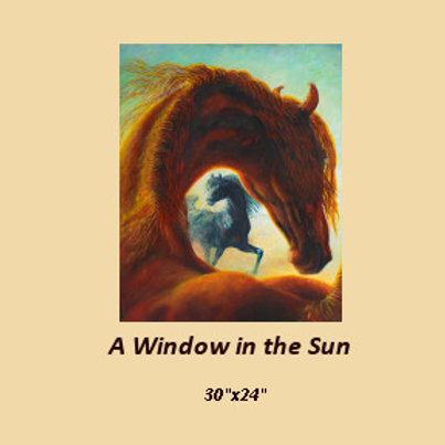 """A Window in the Sun""signed and numbered limited edition print"