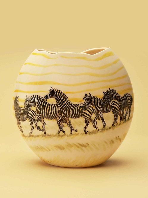 Zebras in Sun Shimmer