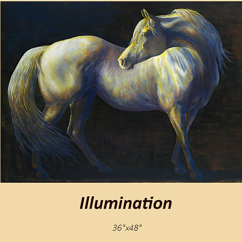 """""""Illumination""""  signed and numbered limited edition print"""
