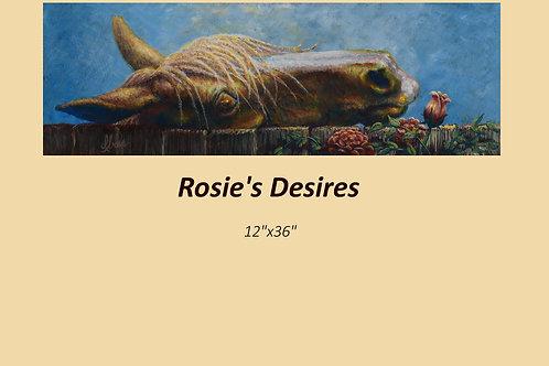 """Rosie's Desire"" original acrylic on canvas"