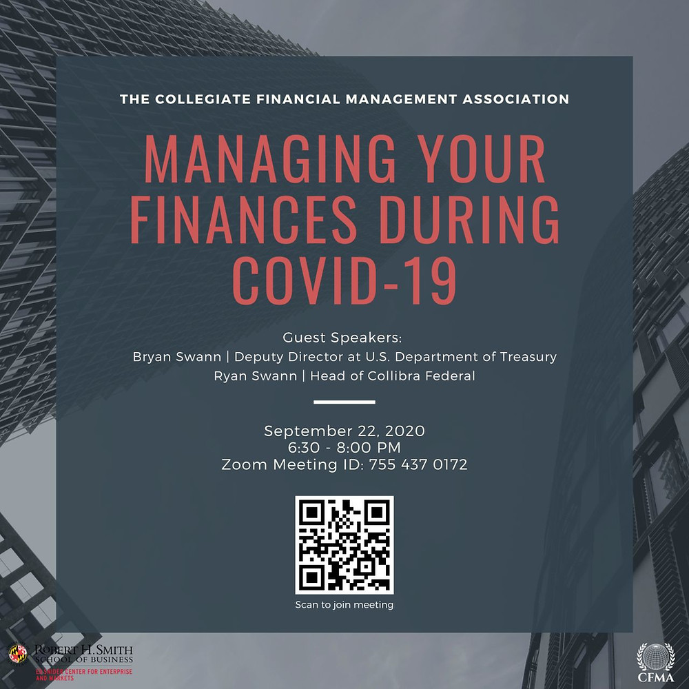 Managing Your Finances During COVID-19