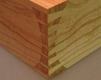 Hand Cut Dovetail Joint