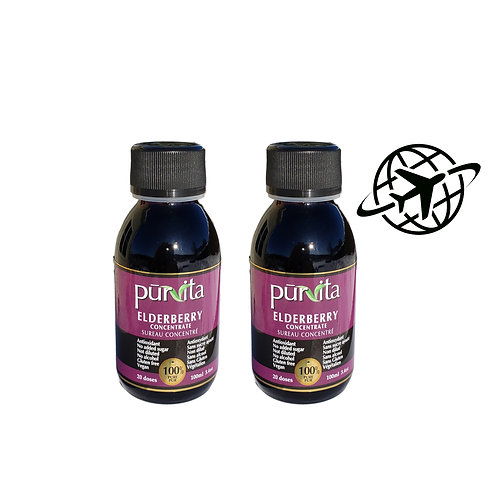 Elderberry Concentrate 100ml   20 doses pack of 2