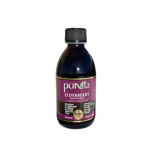 Elderberry Concentrate 250ml   50 doses