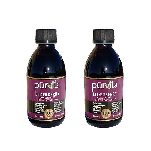 Elderberry Concentrate 250ml   50 doses pack of 2