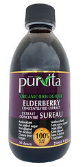 Purvita elderberry 250 ml bottles