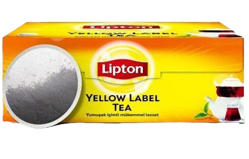 Lipton Yellow Label Siyah Süzen Demlik Poşet Çay 100 x 3.2 G