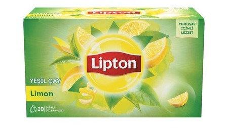 Lipton Limonlu Yeşil Çay Süzen Poşet 20 x 1.5 G