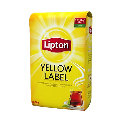 Lipton Yellow Label Siyah Dökme Çay 1 KG