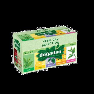 Doğadan Yeşil Çay Selection Karışık Bitki Çayı 20'li