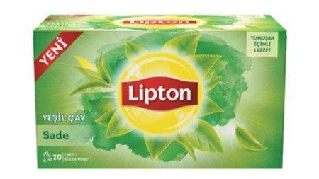 Lipton Yeşil Çay Sade Süzen Poşet Çay 20 x 1.5 G